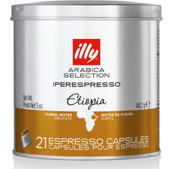 illy Iperespresso Monoarabica Äthiopien (21 Port.)