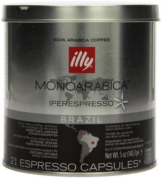 illy Iperespresso Monoarabica Brasilien (21 Port.)