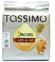 TASSIMO Jacobs Café au Lait Classico 16 T Discs