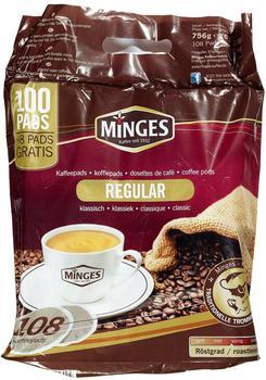 Minges Café Crème Pads Regular (100 Port.)