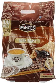 """Minges Café Crème Pads """"Dark Roast"""" (100 Port.)"""