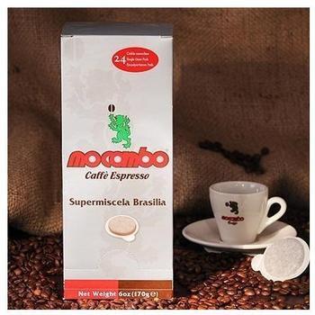 Mocambo Brasilia Kaffee-Pads (18 Port.)