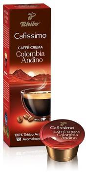 Tchibo Cafissimo Caffè Crema Colombia Andino (10 Port.)