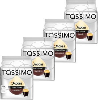 TASSIMO Jacobs Espresso Classico 4x16 T Discs