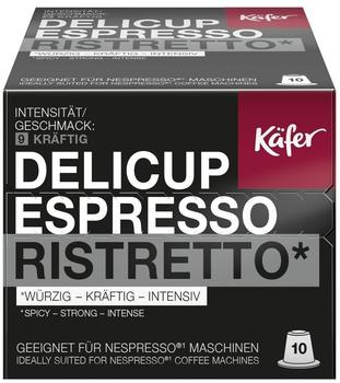 Käfer Delicup Espresso Ristretto 10 Kapseln