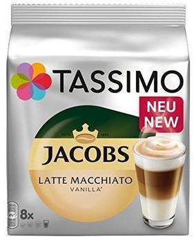 TASSIMO Jacobs Latte Macchiato Vanilla 5x16 T Discs