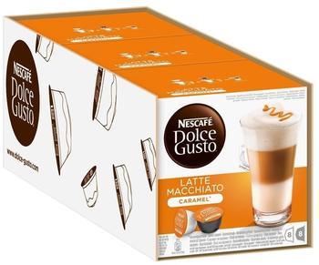 Nescafé Dolce Gusto Latte Macchiato Caramell 3x16 Kapseln