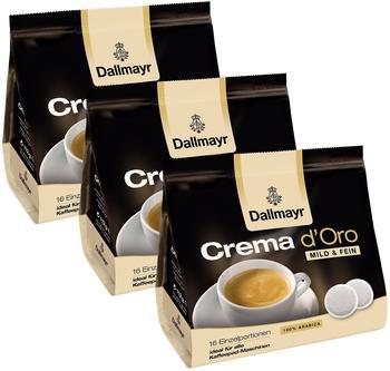 Dallmayr Crema dOro Mild & Fein 3x16 St.