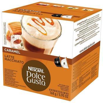 Nescafé Dolce Gusto Caramel Latte Macchiato 16 Kapseln