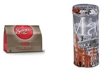 "Douwe Egberts Senseo Classic 16 St. + Xavax Paddose ""City"" Madrid"