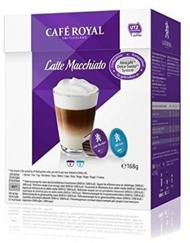 CAFé ROYAL Latte Macchiato 16 Kapseln