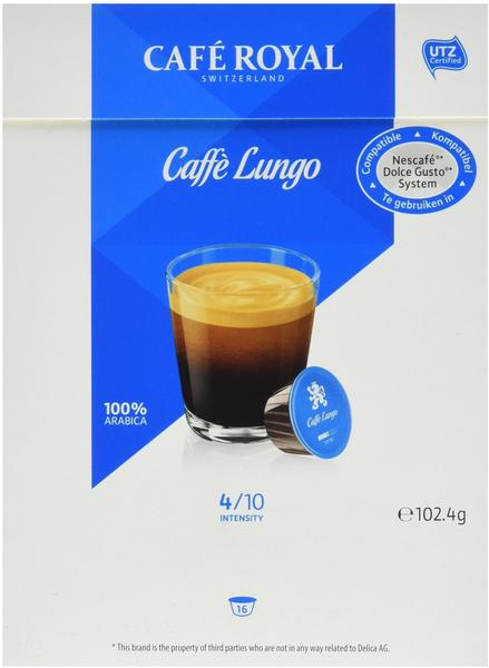 Café Royal Lungo 16 Kapseln, 103 g