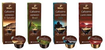 Tchibo Cafissimo Ländersorten - Caffee Crema und Espresso 40 Kapseln