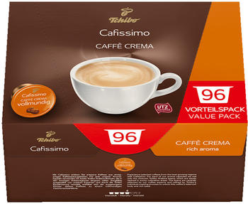 Tchibo Cafissimo Caffè Crema vollmundig Kaffeekapseln (96 Stück)