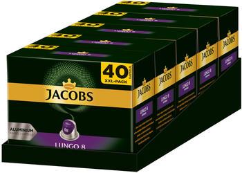 Jacobs Lungo 8 Intenso Kaffeekapseln (5x40 Port.)