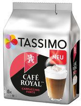 Tassimo Café Royal Cappucino Forte (8 Port.)