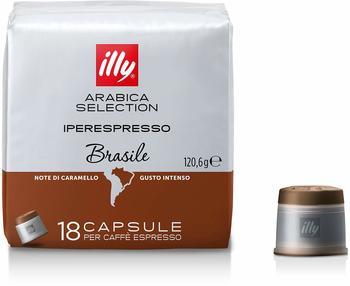 Illy illy Iperespresso Selection Arabica Brasilien Espressokapseln (18 Port.)