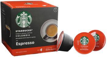 Nescafé Dolce Gusto Starbucks Colombia Espresso Kapseln (12 Port.)