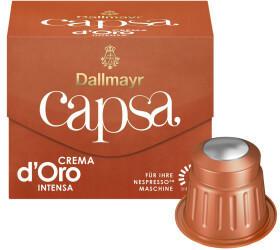 Dallmayr Capsa Crema dOro Intensa Kaffeekapseln (10 Port.)
