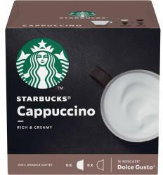 Starbucks Nescafé Dolce Gusto Cappuccino Rich & Creamy (6 Port.)