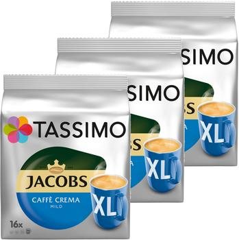 Tassimo Jacobs Caffè Crema mild XL T-Disc (3x16 Port.)