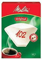 Melitta 102 Original Filtertüten weiß 80 St.