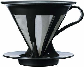 Hario Cafeor Kaffeefilter, wiederverwendbar, schwarz
