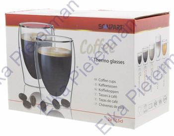 SCANPART Thermo Kaffeeglas 200 ml 2er Set