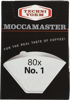 Moccamaster Technivorm Moccamaster 85090 Cup-One Papierfilter Größe weiß