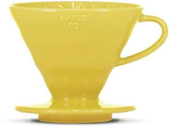 Hario V60 Keramik 02 gelb