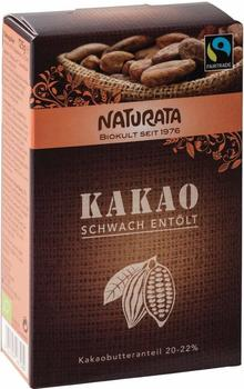 Naturata Kakaopulver schwach entölt (125 g)