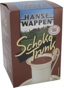 Hanse Wappen Schoko Trunk (500 g)