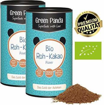 Green Panda Bio Roh-Kakao Pulver (2x250g)
