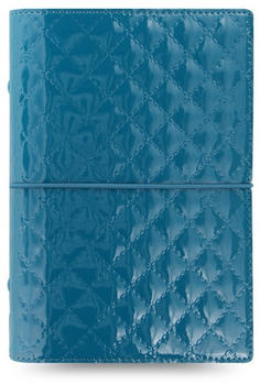 Filofax Domino Luxe Personal Organiser teal
