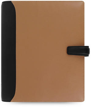Filofax Nappa Zip taupe/black 18-025139