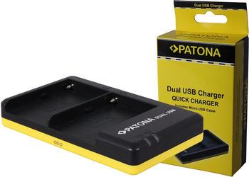 Patona Dual Schnell-Ladegerät f. Sony NP-FM500H