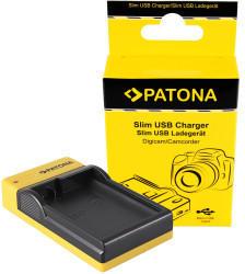 Patona Slim Micro-USB Ladegerät f. Nikon EN-EL15