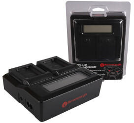 Berenstargh Dual Ladegerät für Sony NP-FW50