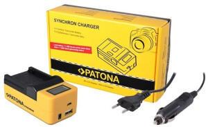 Patona Synchron Ladegerät für Sony NP-BX1