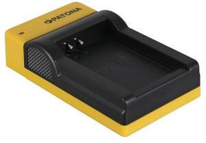 Patona Slim Micro-USB Ladegerät für Canon LP-E12