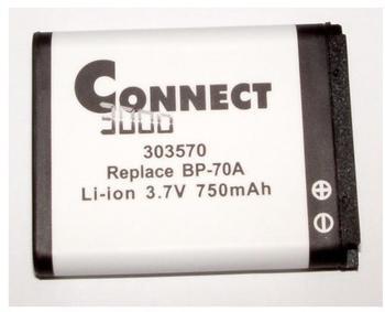 CONNECT Akku für ES 65 - kompatibel zu Samsung BP-70A