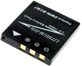 Connect Akku für LUMIX DMC - kompatibel zu CGA-S004