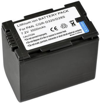 Bresser Lithium-Ionen Ersatzakku für Panasonic CGR-D320/CGR-D28S
