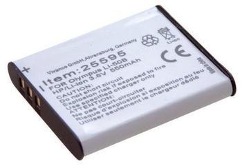 VIVANCO 25599 SBL-1137D Lithium Ionen (Li-Ion) Akku für Digitale Kamera, 800 mAh Kapazität