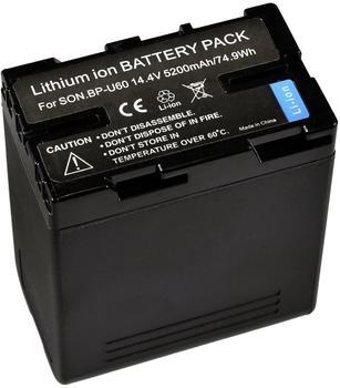 Bresser Lithium-Ionen Ersatzakku für Sony BP-U60
