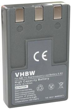 vhbw Canon NB-1L kompatibel