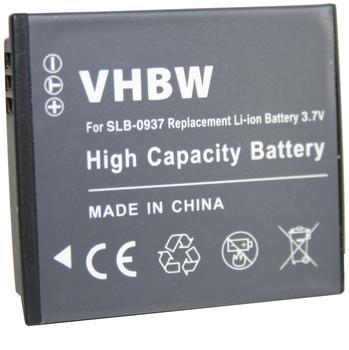vhbw Li-Ion Akku 600mAh (3.7V) für Kamera Samsung Digimax ST10 wie Samsung SLB-0937.