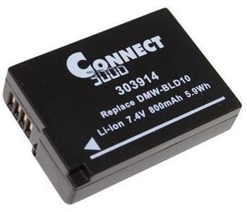 Connect Akku für LUMIX DMC - kompatibel zu DMW-BLD10PP