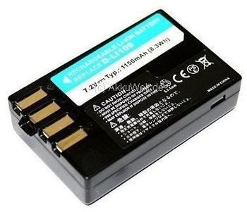 Connect Akku für K - kompatibel zu D-LI109