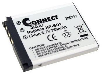 Connect Kameraakku passend zu Sony NP-BD1
